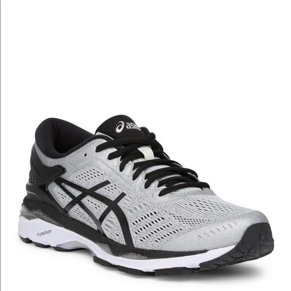 ASICS GEL Kayano 24 Mens Running Shoe Silver Black